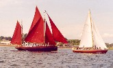 'Morna' and 'Marianne'' off Killyleagh - Strangford Lough