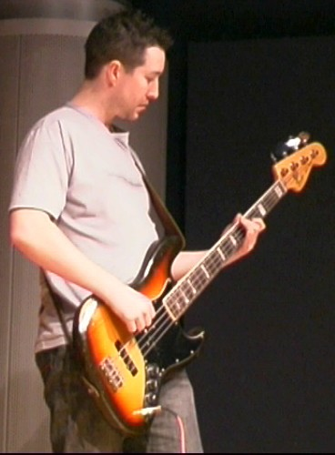 James on bass